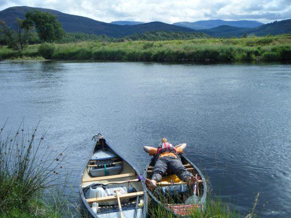 River Spey Canoe Descent