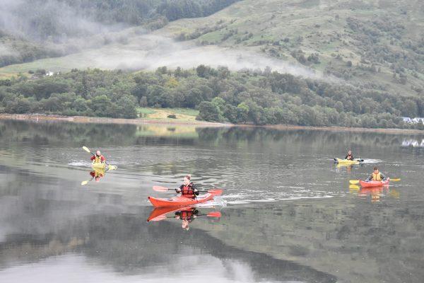great glen way sea kayak