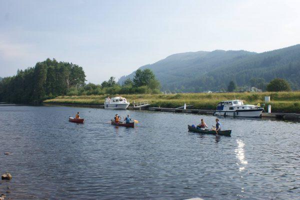 Great Glen Canoe trail