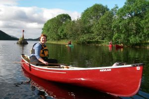 Canoeing, Great Glen Way