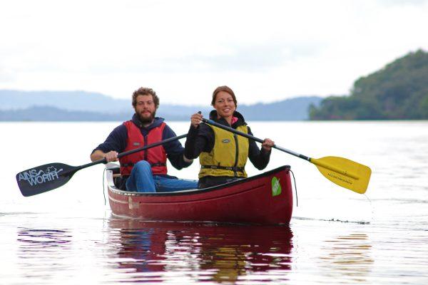 Great glen canoeing