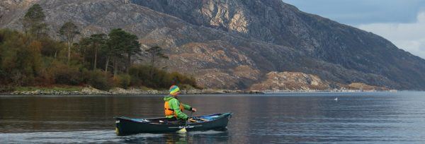 Knoydart Canoe expedition adventure