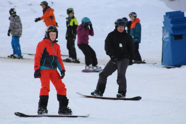 snowboard lessons in aviemore
