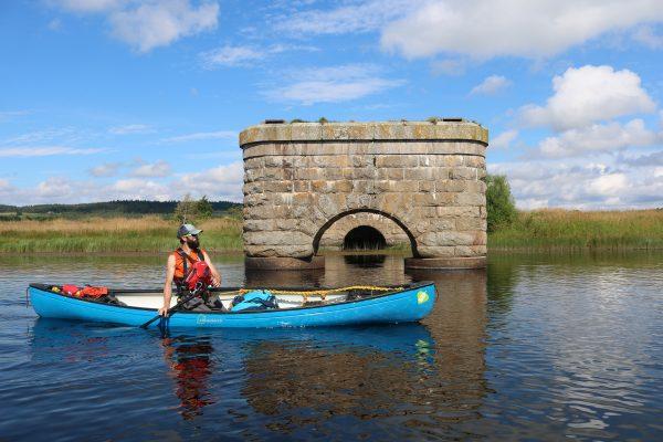 River Spey Canoe Bridge