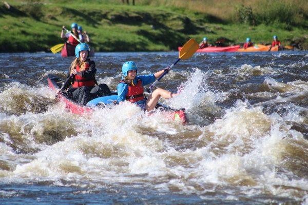 River Spey Canoe Rapid