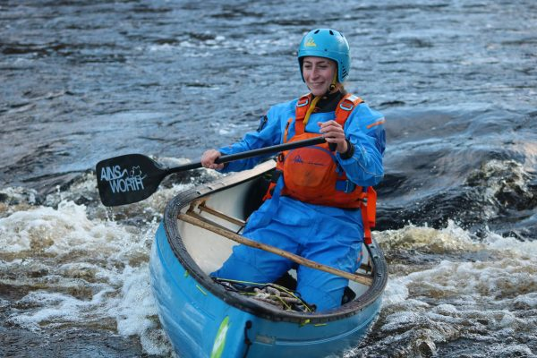 Spey descent canoe