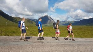 Guided West highland way adventure journey