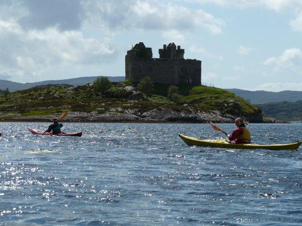 Silver DofE sea kayaking Qualifier in Scotland