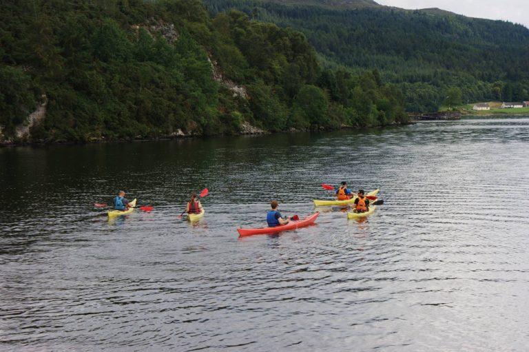 Sea Kayak - Great Glen way