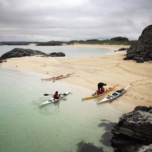 sea kayaking in Scotland