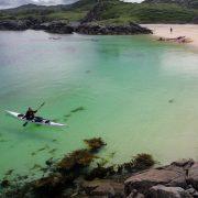 Sea kayaking in Scotland's North coast