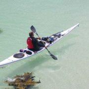 Sea kayaking in Scotland's golden beaches