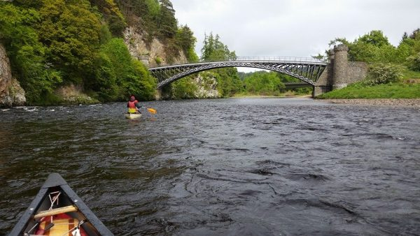 Active Canoeing - Spey Descent