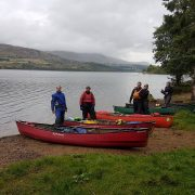 Start of the Tay Descent