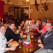 Dinner Time, West Highland Way