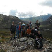 Team Photo, West Highland Way