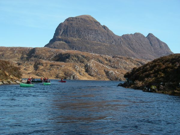 Inverpolly guided adventure trip in Scotland