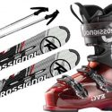 Ski's, Boots and Poles