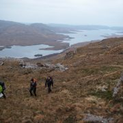 Loch Sionascaig from Cul Mor, Inverpolly