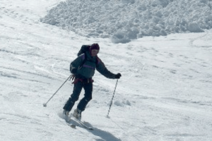 ski touring journey