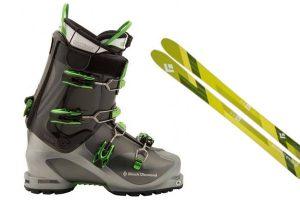 Skis, Boots, Poles, Skins & Ski Crampons