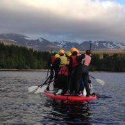 stand up paddle boarding loch morlich aviemore