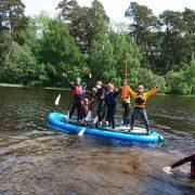Mega SUP at Loch Insh