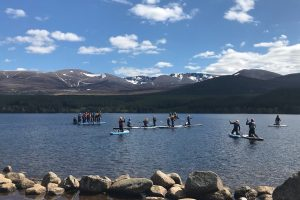 Active Outdoor Pursuits Stand Up Paddle Boarding Cairngorms