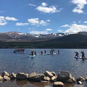 Stand up Paddle Boarding in Aviemore & the Cairngorms