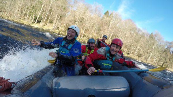 Ayrshire White Water Rafting