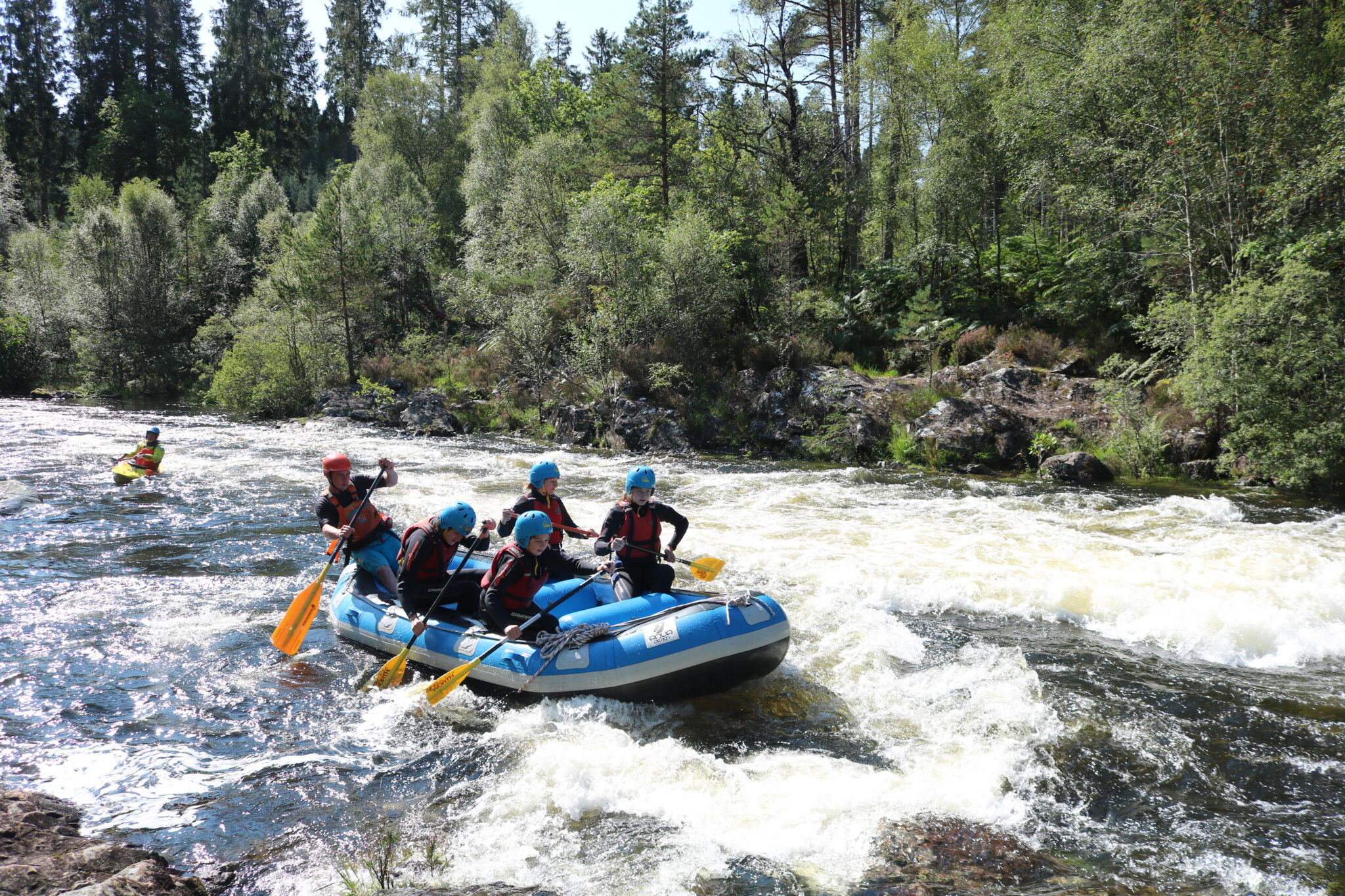 awesome rafting