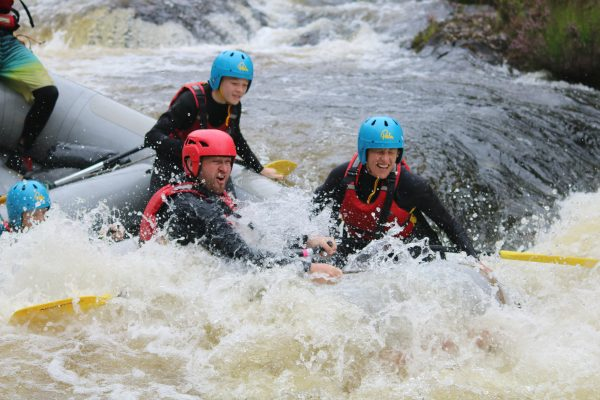 White Water Rafting in Scotland