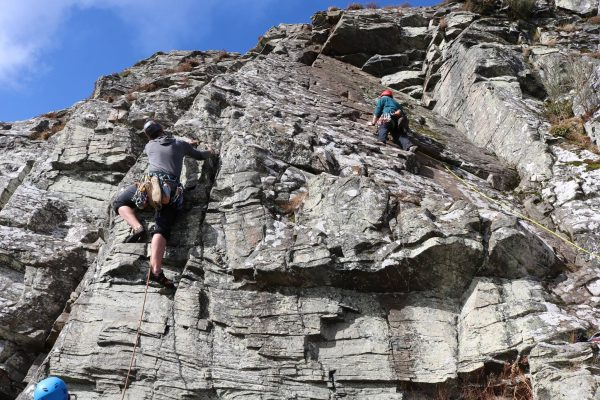 Outdoor Activities in the Great Glen climbing & abseiling