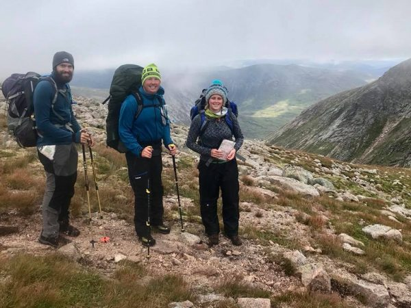Summer Mountain Leader training
