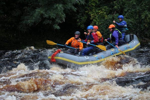 rafting the river doon