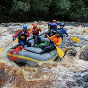 Raft guide training course