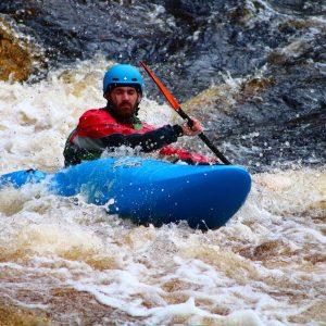 White Water kayak leader training & assessment