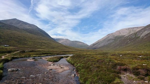 walking trip in Scotland Cairngorms adventure journey