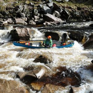 advanced open canoe leader training