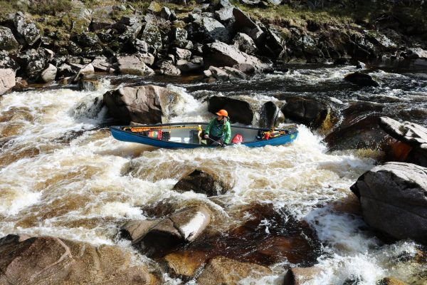advanced open canoe leader training