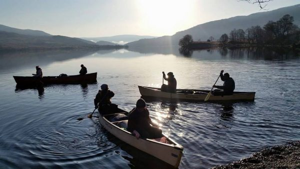 silver DofE canoe training, practice and qualifier expeditions