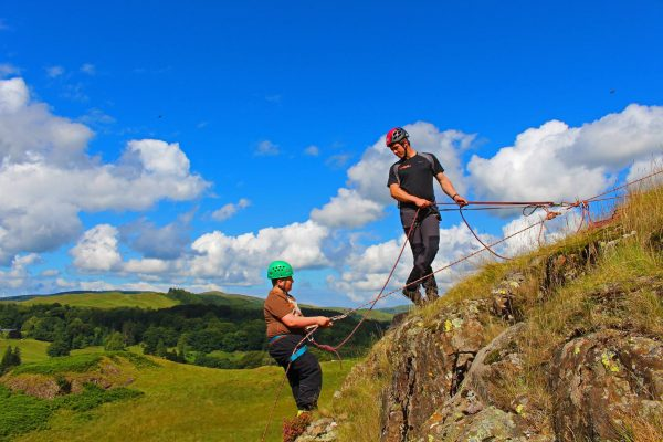 rock climbing & abseiling in Ayrshire & Glasgow gift voucher