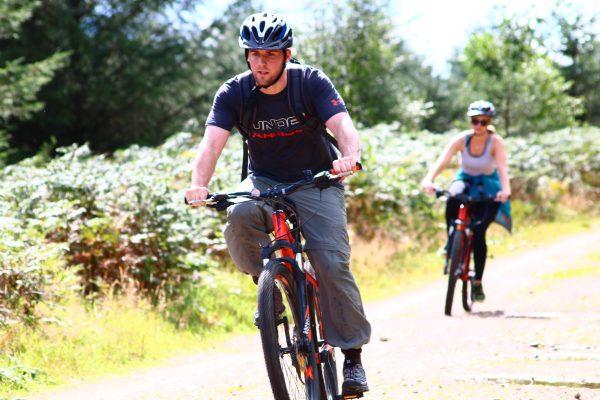mountain biking in Aviemore & the Cairngorms