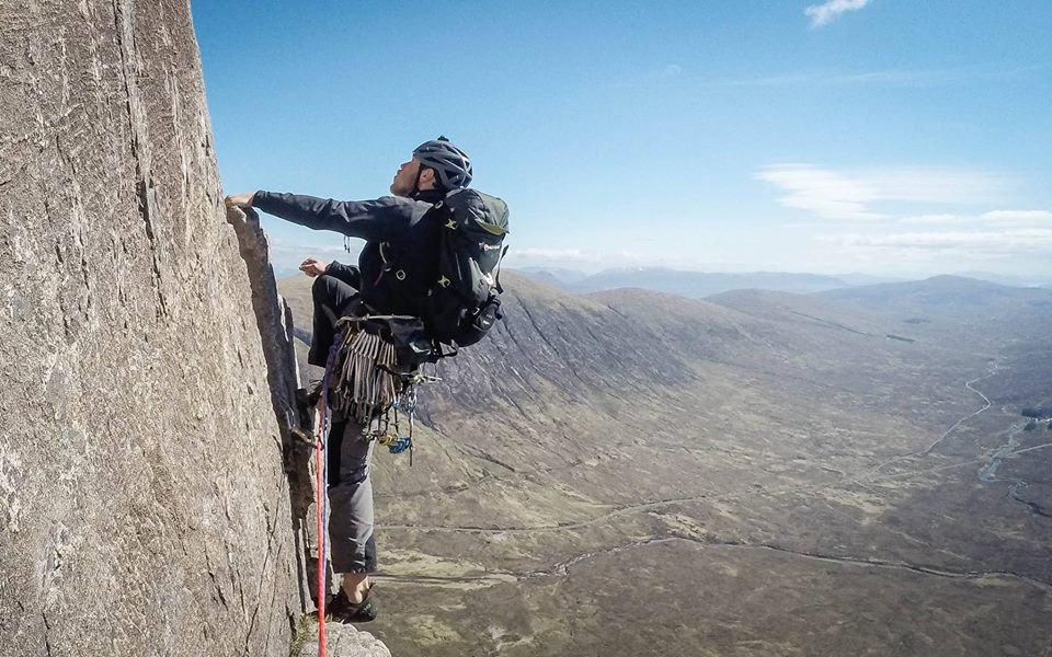 Learn to multi pitch climb