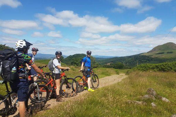West Highland Way - Mountain Biking