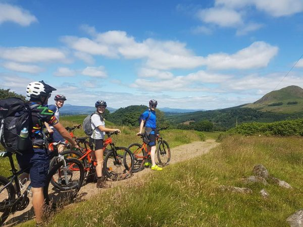 mountain biking in Aviemore