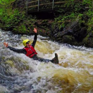 canyoning in ayrshire