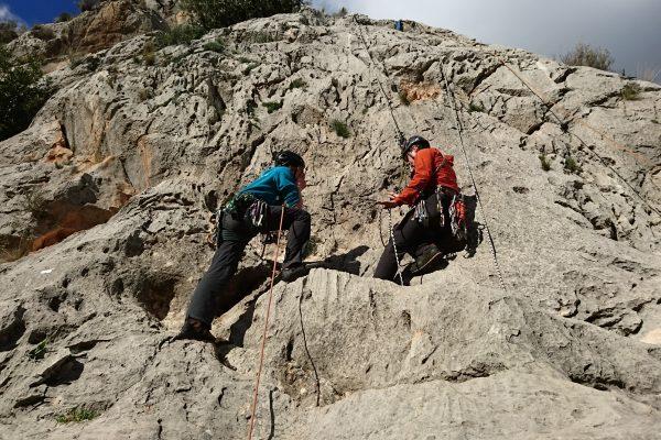 Learn to Lead Climb