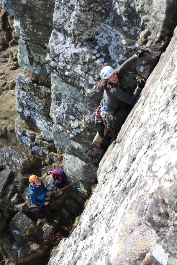 learn to climb in scotland