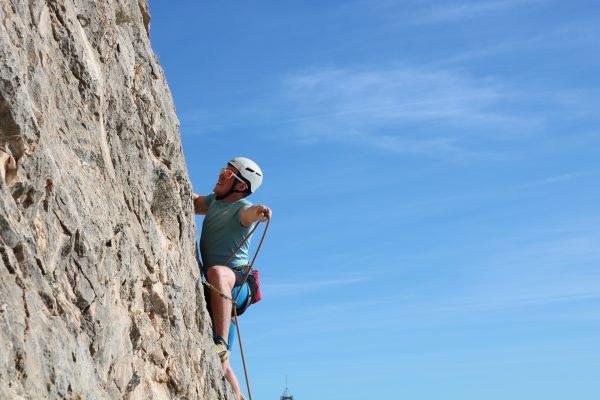 Lead Climbing in Aviemore & the Cairngorms